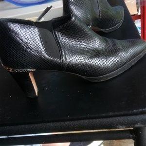 Brighton black leather shoes
